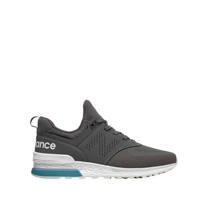 New Balance Sneakers Gris Homme MS574PCG