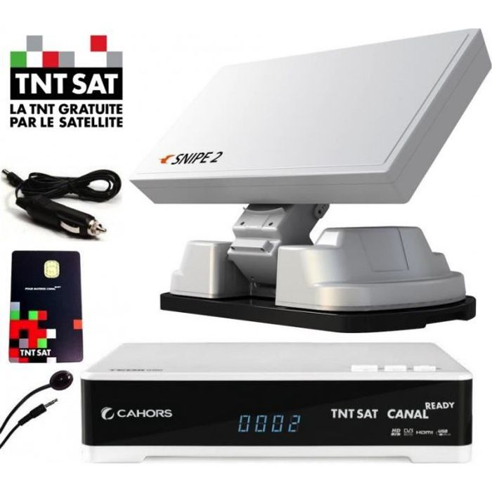 ANTENNE RATEAU Pack Antenne Automatique SNIPE 2 + Démodulateur TN