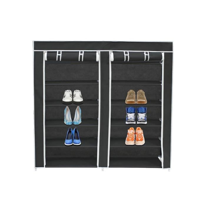 meuble chaussures toile. Black Bedroom Furniture Sets. Home Design Ideas