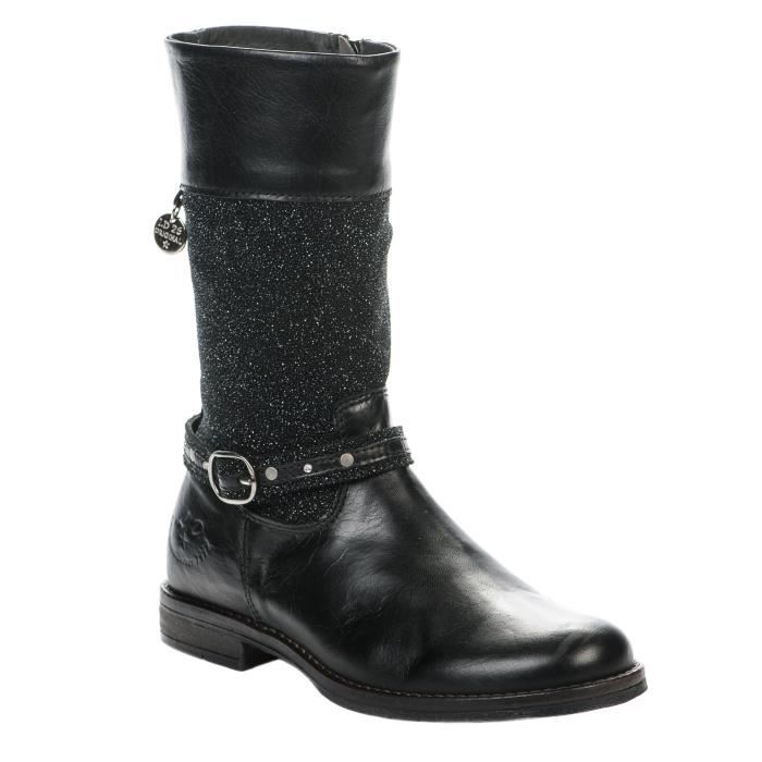 Bottes fille - LITTLE DAVID - Noir - 2167411