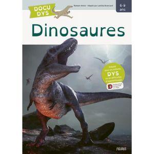 DOCUMENTAIRE ENFANT Dinosaures [ADAPTE AUX DYS]
