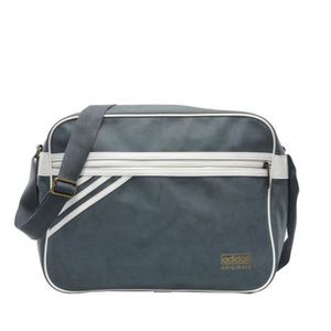 BESACE - SAC REPORTER Adidas Airliner Suede Bag Tasche bold onix-white v