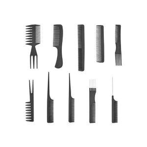 BROSSE - PEIGNE PEIGNE 10pcs Pro Salon Coupe De Cheveux Style Barb