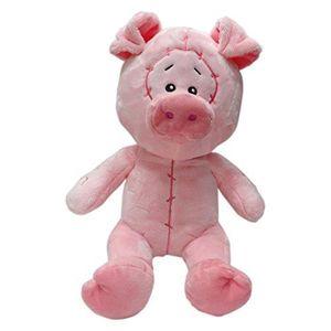 PELUCHE bébé cochon en peluche 25cm pour les enfants de mi