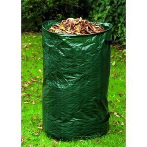 SAC POUBELLE sac 120 litres pour feuilles du jardin lot de 10