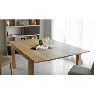 Table console extensible bois massif achat vente table for Table chene massif extensible