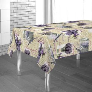nappe sans repassage anti tache achat vente nappe sans repassage anti tache pas cher cdiscount. Black Bedroom Furniture Sets. Home Design Ideas