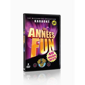 DVD MUSICAL Les Années Fun   (Karaoké 2 DVD)