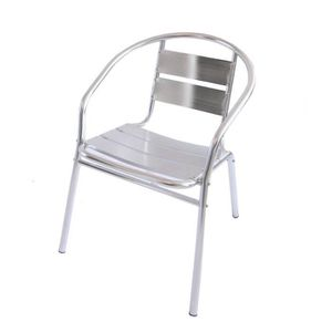 chaise empilable jardin aluminium achat vente chaise empilable jardin aluminium pas cher. Black Bedroom Furniture Sets. Home Design Ideas