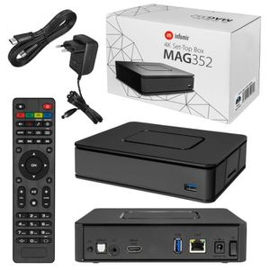 BOX MULTIMEDIA MAG-351 Micro IPTV Set Top Box Internet TV