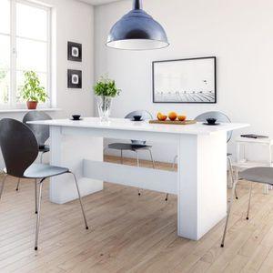 TABLE À MANGER SEULE Table à manger 6 à 8 personnes - Style contemporai
