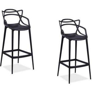 TABOURET Tabouret de bar stool noir Master / chaise haute c