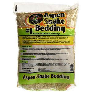 DÉCO VÉGÉTALE - RACINE Zoo Med Aspen Snake Bedding Substrat pour Reptile-