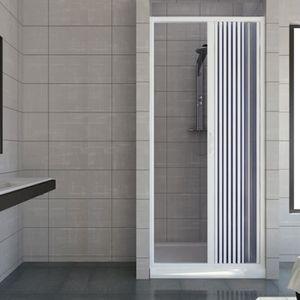 PORTE DE DOUCHE Porte paroi de douche en Plastique PVC mod. Vergin