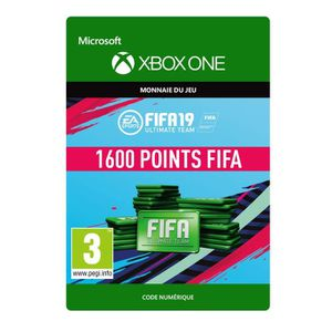 EXTENSION - CODE DLC FIFA 19 Ultimate Team : 1600 pts pour Xbox One