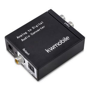 Récepteur audio kwmobile convertisseur audio analogique-numérique