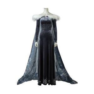 DÉGUISEMENT - PANOPLIE Déguisement Robe Elsa Costume Cape Olaf's Frozen A