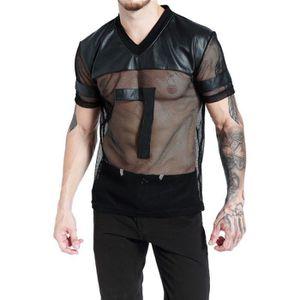 POLO Sous-vêtements hommes sexy chemises T-shirt débard
