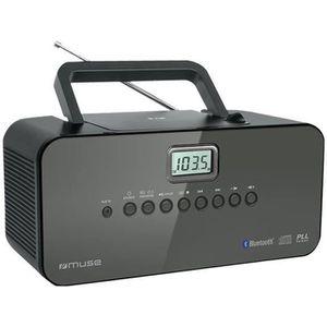 RADIO CD CASSETTE MUSE M-22 BT Radio Cd / Bluetooth - Tuner PLL AM /