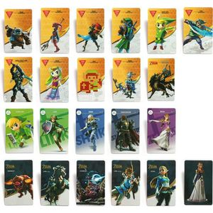 CARTE A COLLECTIONNER 22 Full Set NFC PVC Tag Card Carte de jeu ZELDA BR