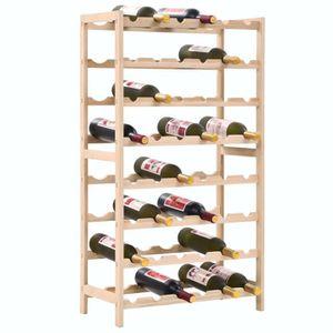 MEUBLE RANGE BOUTEILLE Casier à bouteilles Étagère à vin Casier à vin Boi