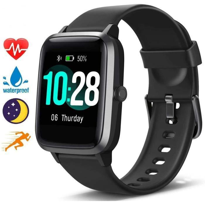 Blackview Montre Connectée Homme Femmes Smartwatch étanche fréquence Cardiaque et Suivi d'activité