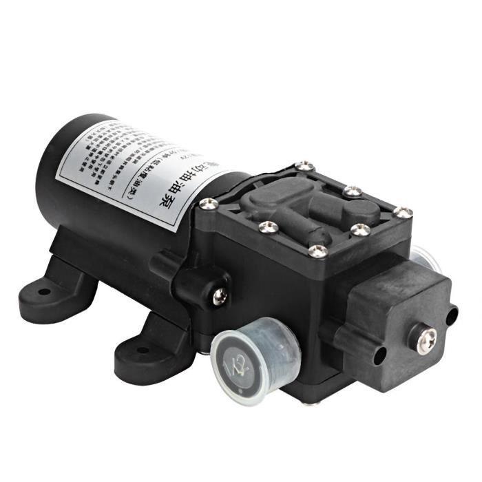 CHI ◘ Pompe à eau électrique à membrane à grand débit 12V 40W 12L - min Distance d'aspiration verticale 1.5M