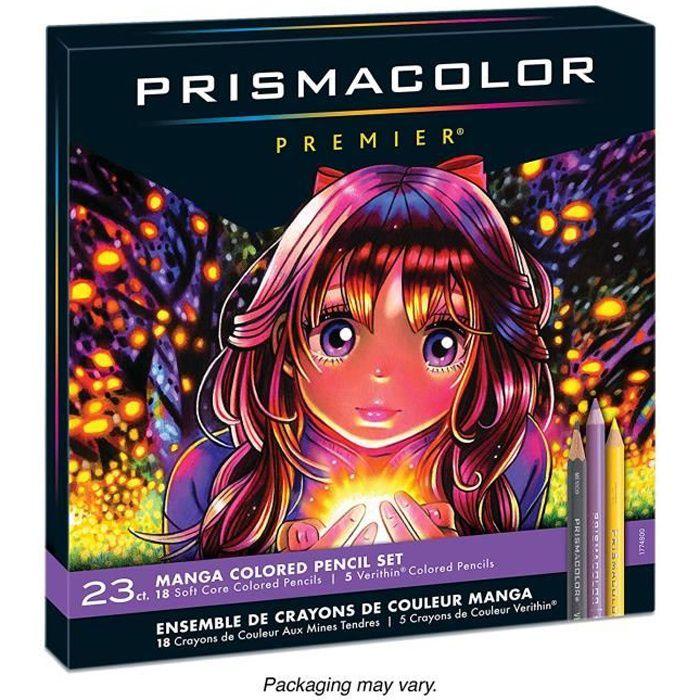 Prismacolor 1774800 Premier Crayons de couleur pour mangas