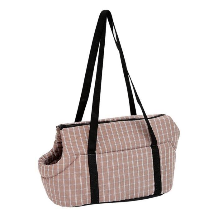 Sac de transport,Sac à dos pour chien avec support d'animaux Sac pour chien chat doux et confortable, sacs en plein - Type QC-S