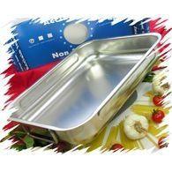 STEEL PAN Plat rectangulaire 30 x 22 cm - 10181