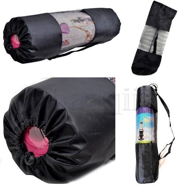 Sac Rangement Tapis Matelas Serviette Coussin Yoga Nylon Bandouliere bag