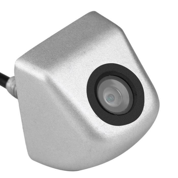 ZJCHAO Caméra de recul CCD Caméra de recul de voiture CCD de secours Parking Vision nocturne caméra de recul étanche argent