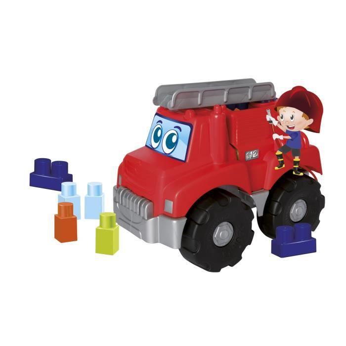 LES MAXI Camion Pompier Garni Construction Premier Âge