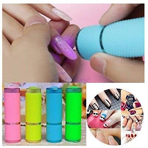Glamza White Professional Mini Portable Voyage Cure Cure LED Lampe Lampe Rapide Gel Sèche Ongles