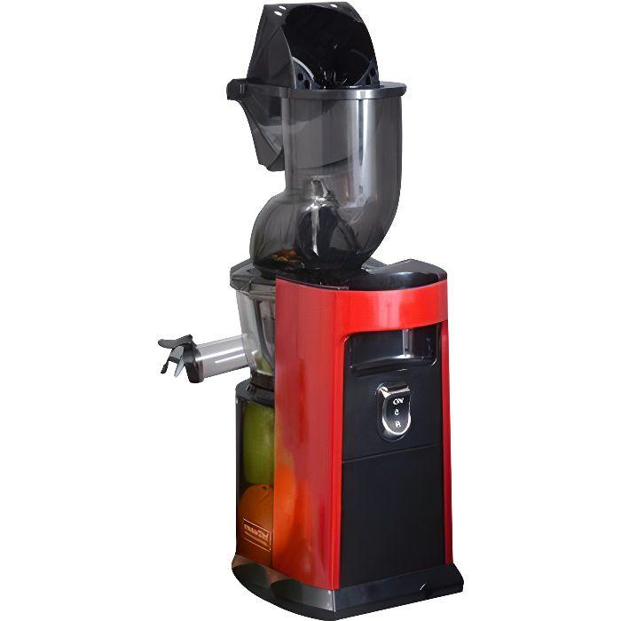 Kitchen chef - extracteur de jus 250w rouge - aje378lar