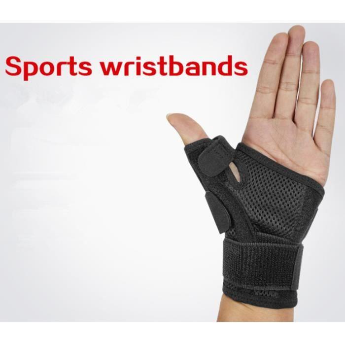 Orthèse de poignet du canal carpien pour hommes et femmes - Attelle de soutien thérapeutique pour la douleur du pouce et des mains