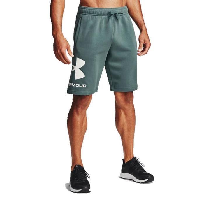 Under Armour Hommes Rival Polaire Laine Toison En Big Logo Short Bermuda Sport