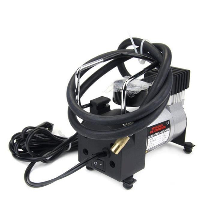 Mini compresseur d'air portatif,pompe de gonflage de pneu électrique voiture 12 volts 12V,-QP