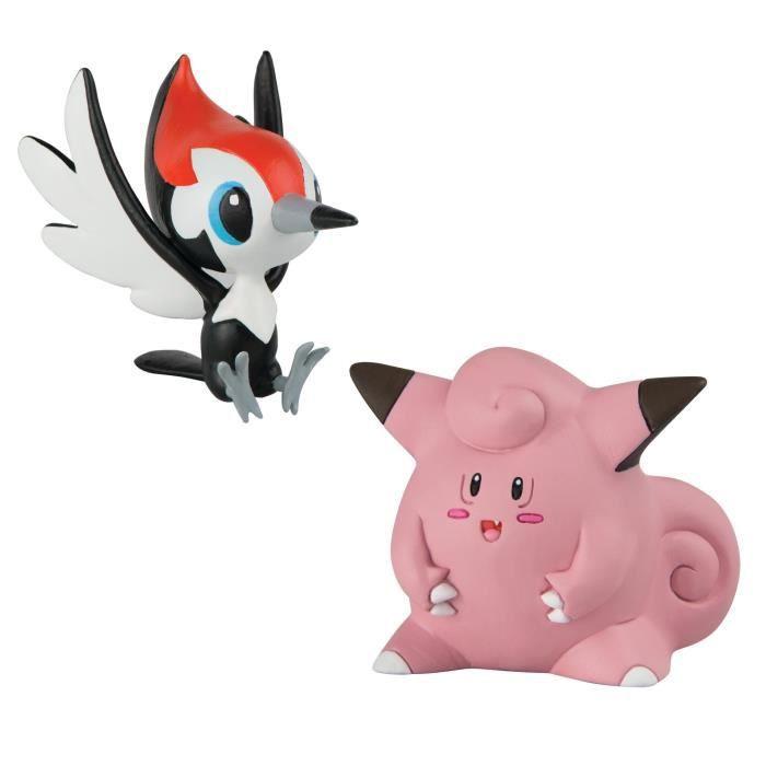 POKEMON Figurines Picassaut VS Mélofée