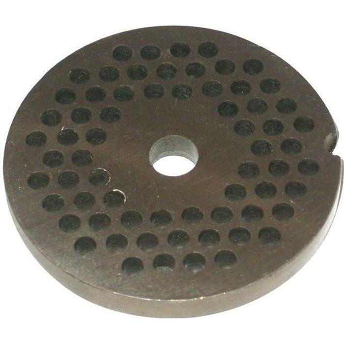 REBER Grille pour Hachoir électrique - N°12 - Diamètre 8 mm