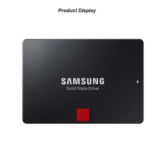256Go Samsung Disque Dur Ssd 2,5 pouces Sata 860Pro pour Pc Ordinateur