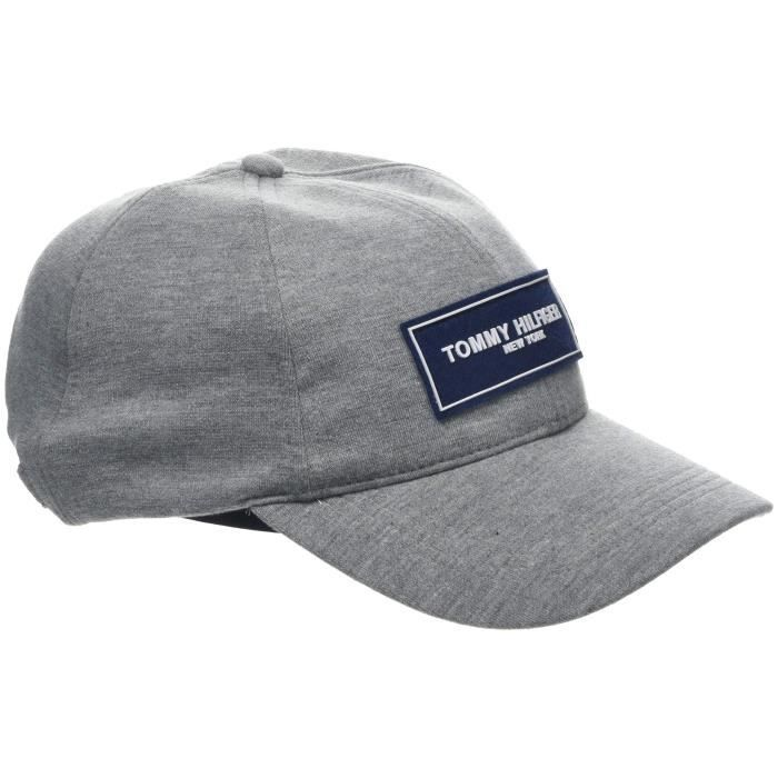 Tommy Hilfiger Tailored Cap Casquette De Baseball, Gris (Mid Grey 059), Unique (Taille Fabricant: OS) Homme