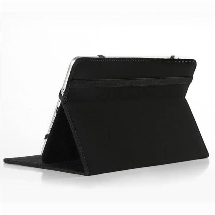 WE Housse universelle tablettes 7 noire WE