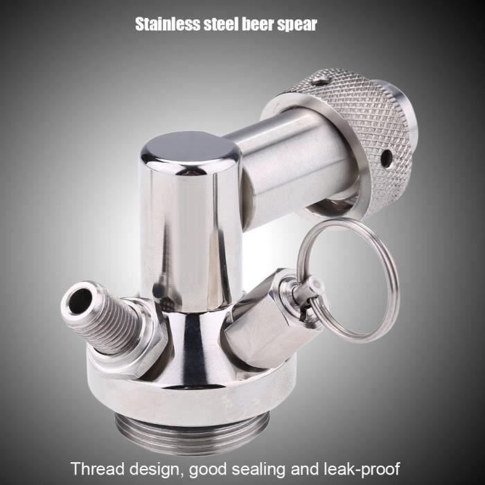 MACHINE A BIÈRE  Connecteur de rapide pour lance de bière en acier