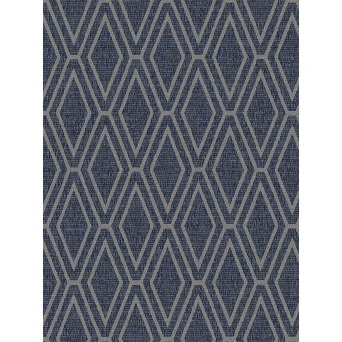 3 x gris à rayures Bleu Paillettes Papier Peint Shimmer Coller Mur Texturé RASCH
