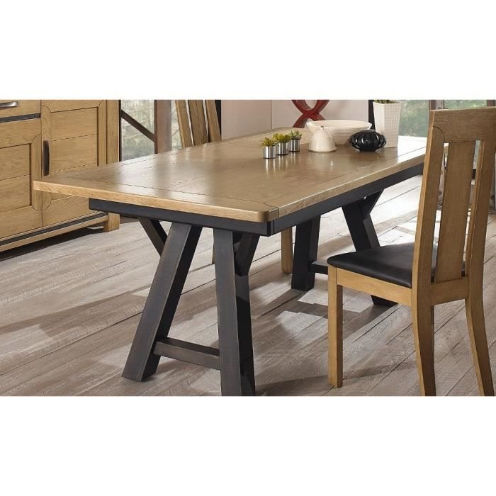 Table haute l 160 aliz multicolore achat vente table for Table haute a manger