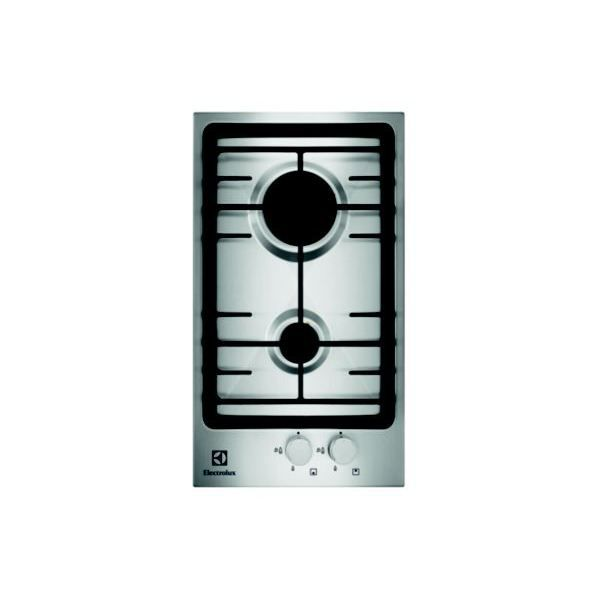 domino gaz electrolux egg 3322 nox achat vente plaque gaz cdiscount. Black Bedroom Furniture Sets. Home Design Ideas