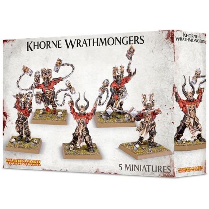 Khorne Wrathmongers//skullreapers-jambes 5x-Big Pack