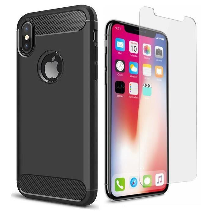 Coque iPhone XR transparentCoque iPhone XR Housse iphone XR en Silicone renforcé Shockproof anti choc