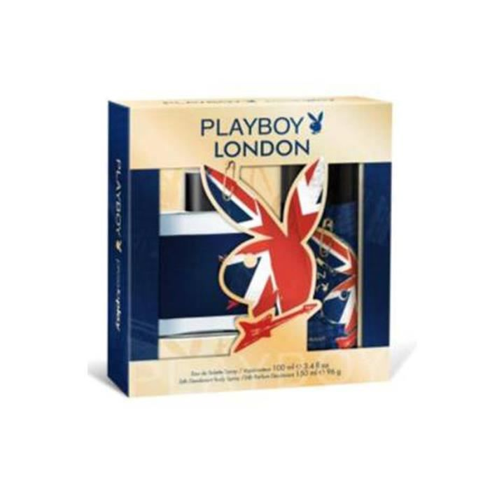 PARFUM  PLAYBOY Homme Coffret London (x1)
